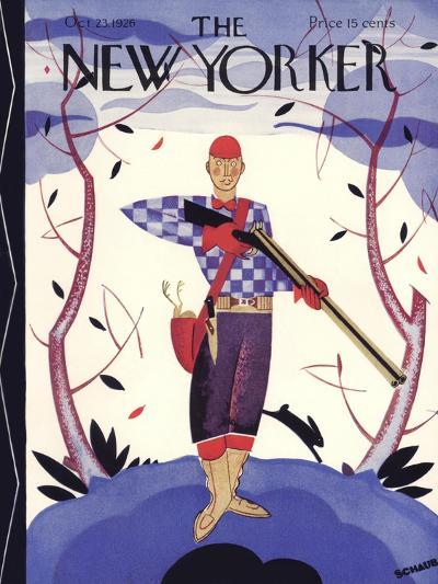The New Yorker Cover - October 23, 1926-Andre De Schaub-Premium Giclee Print