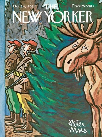 The New Yorker Cover - October 24, 1964-Peter Arno-Premium Giclee Print