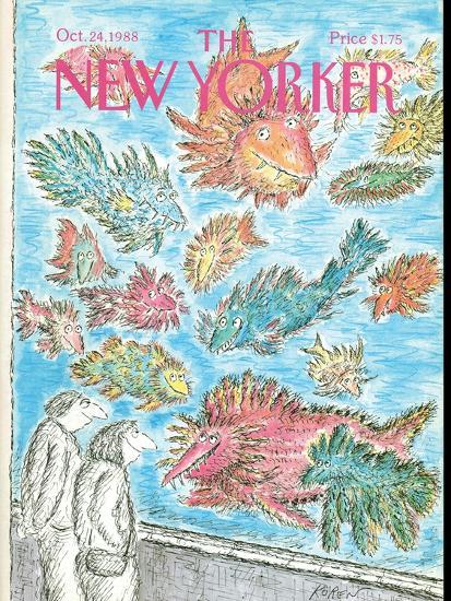 The New Yorker Cover - October 24, 1988-Edward Koren-Premium Giclee Print