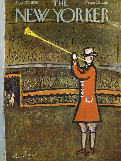 The New Yorker Cover - October 27, 1956-Abe Birnbaum-Premium Giclee Print