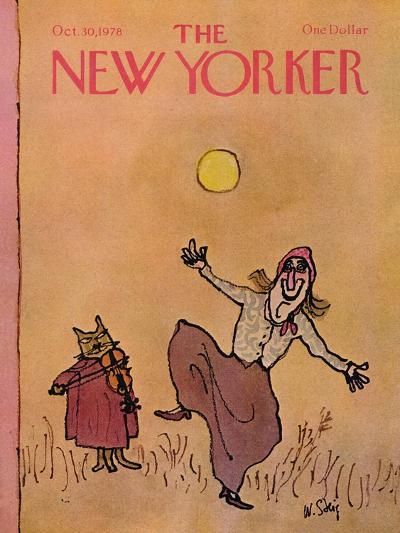 The New Yorker Cover - October 30, 1978-William Steig-Premium Giclee Print