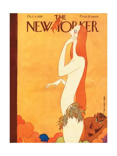The New Yorker Cover - October 4, 1930-Rea Irvin-Premium Giclee Print
