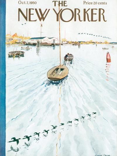 The New Yorker Cover - October 7, 1950-Garrett Price-Premium Giclee Print