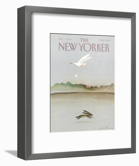 The New Yorker Cover - October 7, 1985-Andre Francois-Framed Premium Giclee Print