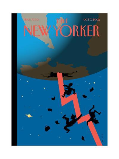 The New Yorker Cover - October 7, 2002-Christoph Niemann-Premium Giclee Print