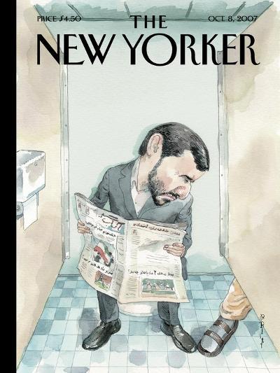 The New Yorker Cover - October 8, 2007-Barry Blitt-Premium Giclee Print