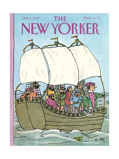 The New Yorker Cover - October 9, 1989-William Steig-Premium Giclee Print