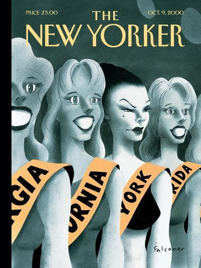 The New Yorker Cover - October 9, 2000-Ian Falconer-Premium Giclee Print
