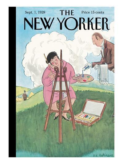 The New Yorker Cover - September 1, 1928-Helen E. Hokinson-Premium Giclee Print