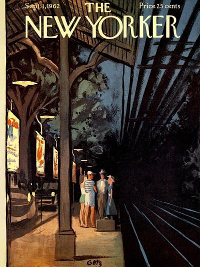 The New Yorker Cover - September 1, 1962-Arthur Getz-Premium Giclee Print