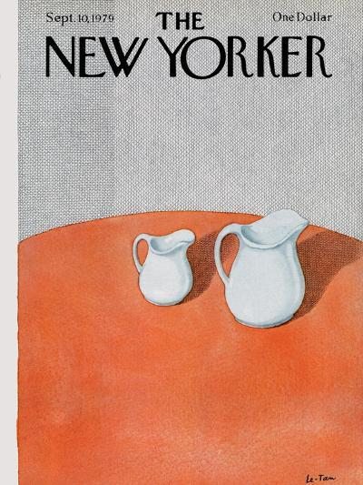 The New Yorker Cover - September 10, 1979-Pierre LeTan-Premium Giclee Print