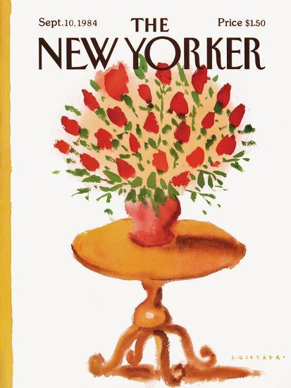 The New Yorker Cover - September 10, 1984-Abel Quezada-Premium Giclee Print