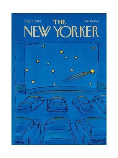 The New Yorker Cover - September 11, 1978-Eug?ne Mihaesco-Premium Giclee Print