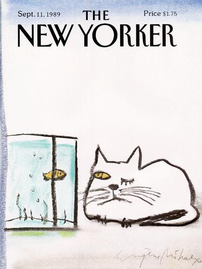 The New Yorker Cover - September 11, 1989-Eug?ne Mihaesco-Premium Giclee Print