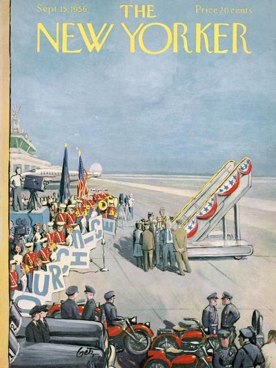 The New Yorker Cover - September 15, 1956-Arthur Getz-Premium Giclee Print