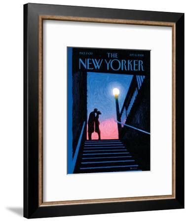 The New Yorker Cover - September 15, 2008-Eric Drooker-Framed Premium Giclee Print
