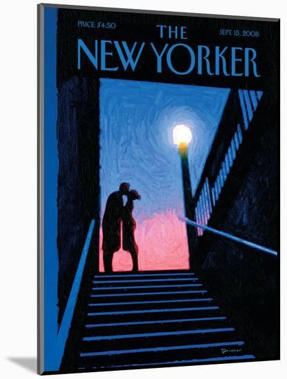 The New Yorker Cover - September 15, 2008-Eric Drooker-Mounted Premium Giclee Print