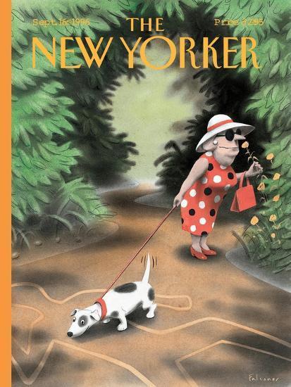 The New Yorker Cover - September 16, 1996-Ian Falconer-Premium Giclee Print