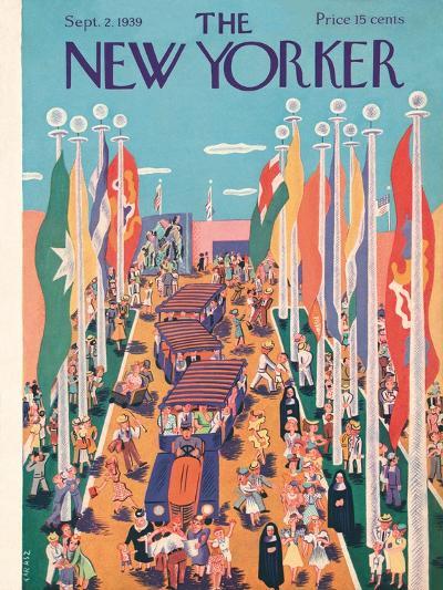 The New Yorker Cover - September 2, 1939-Ilonka Karasz-Premium Giclee Print