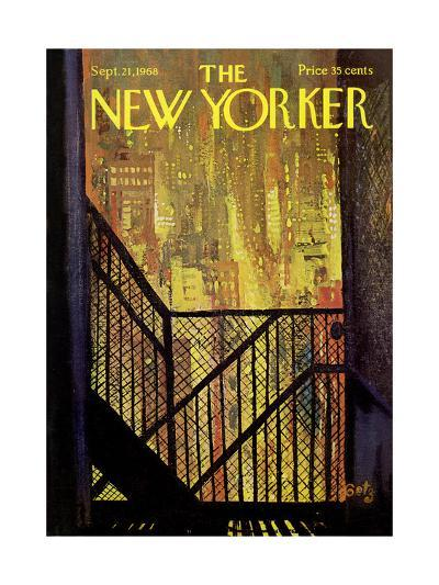 The New Yorker Cover - September 21, 1968-Arthur Getz-Premium Giclee Print
