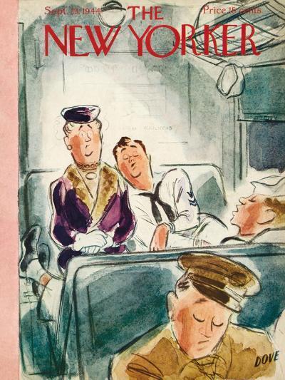 The New Yorker Cover - September 23, 1944-Leonard Dove-Premium Giclee Print