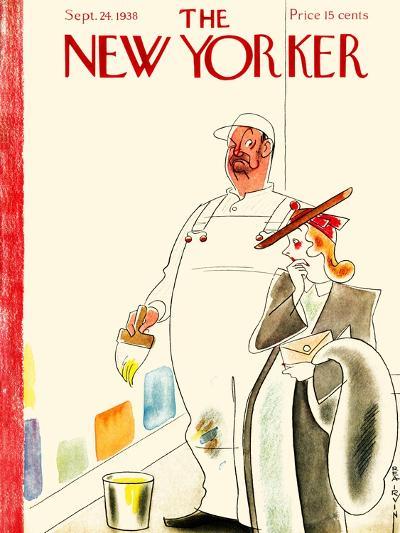 The New Yorker Cover - September 24, 1938-Rea Irvin-Premium Giclee Print