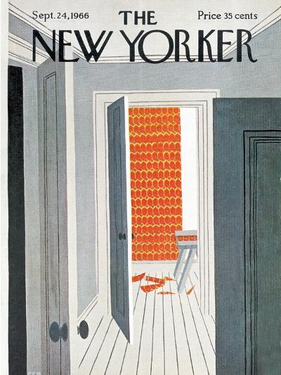 The New Yorker Cover - September 24, 1966-Charles E. Martin-Premium Giclee Print
