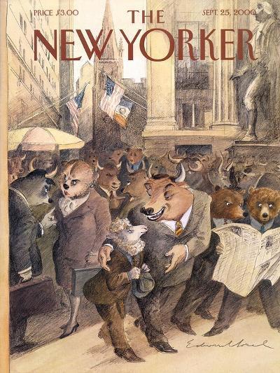 The New Yorker Cover - September 25, 2000-Edward Sorel-Premium Giclee Print