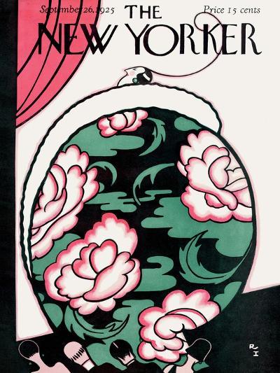 The New Yorker Cover - September 26, 1925-Rea Irvin-Premium Giclee Print