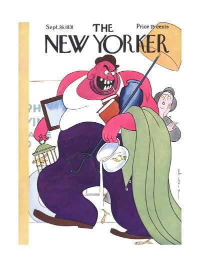 The New Yorker Cover - September 26, 1931-Rea Irvin-Premium Giclee Print