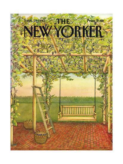 The New Yorker Cover - September 27, 1982-Jenni Oliver-Premium Giclee Print