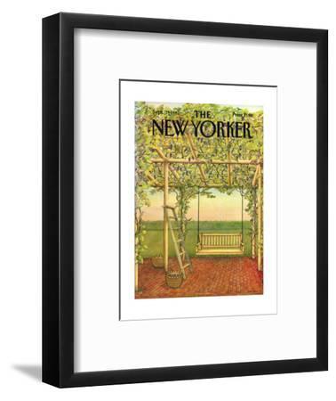 The New Yorker Cover - September 27, 1982-Jenni Oliver-Framed Premium Giclee Print