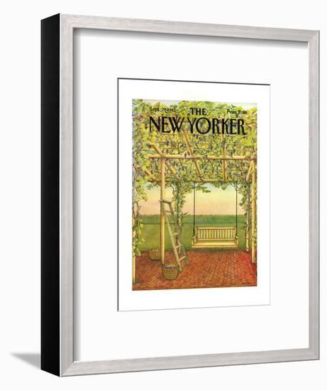 The New Yorker Cover - September 27, 1982-Jenni Oliver-Framed Premium Giclee Print