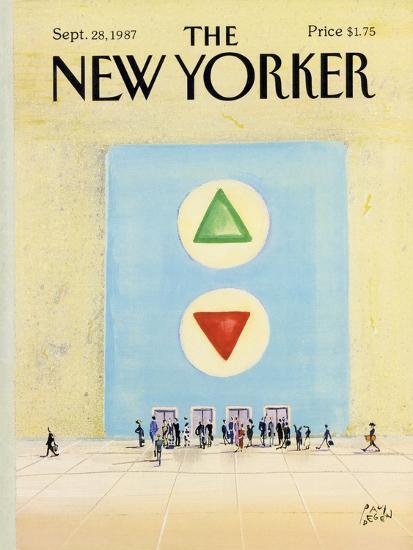 The New Yorker Cover - September 28, 1987-Paul Degen-Premium Giclee Print