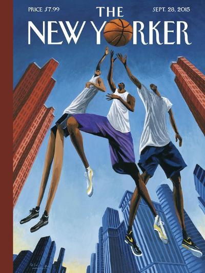 The New Yorker Cover - September 28, 2015--Premium Giclee Print