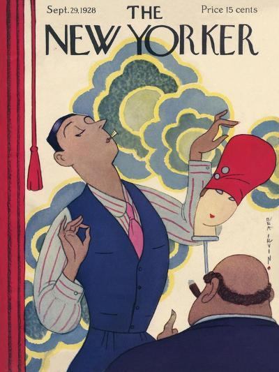 The New Yorker Cover - September 29, 1928-Rea Irvin-Premium Giclee Print