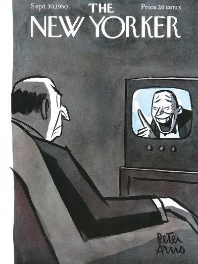 The New Yorker Cover - September 30, 1950-Peter Arno-Premium Giclee Print