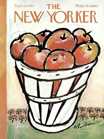 The New Yorker Cover - September 30, 1967-Abe Birnbaum-Premium Giclee Print