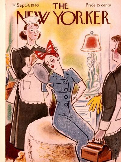 The New Yorker Cover - September 4, 1943-Rea Irvin-Premium Giclee Print