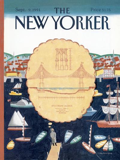The New Yorker Cover - September 9, 1991-Kathy Osborn-Premium Giclee Print