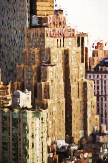 The New Yorker - In the Style of Oil Painting-Philippe Hugonnard-Giclee Print