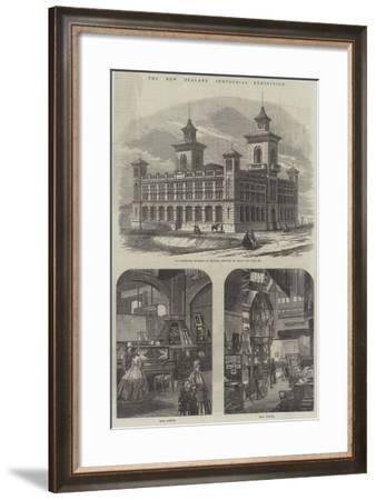 The New Zealand Industrial Exhibition--Framed Giclee Print