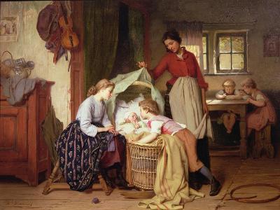 The Newborn Child-Theodore Gerard-Giclee Print