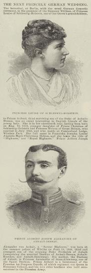 The Next Princely German Wedding--Giclee Print