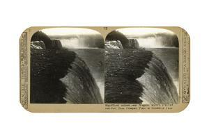 The Niagra Falls, from Prospect Point to Horseshoe Falls, Late 19th Century