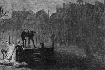 The Night before the Execution, 1554-George Cruikshank-Giclee Print