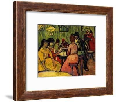 The Night Cafe-Vincent van Gogh-Framed Art Print