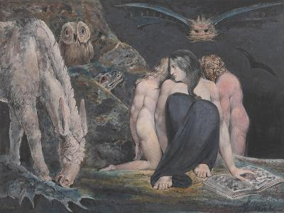 The Night of Enitharmon's Joy (Formerly Called 'Hecate')-William Blake-Giclee Print