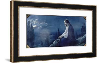 The Night on the Mount of Olives, about 1900--Framed Giclee Print