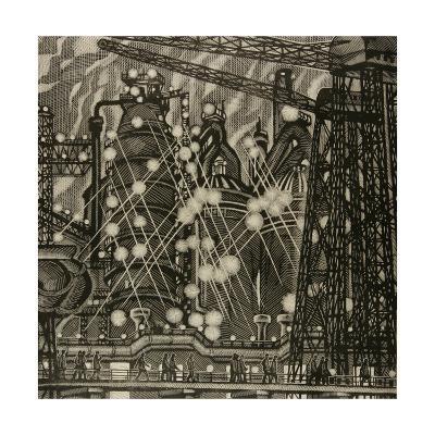 The Night Shift, 1975-Masabikh Akhunov-Giclee Print